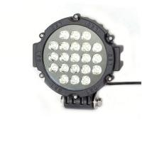 Buy cheap 63W 7 Inch Led Driving Lights For Cars Flood /Spot Black Red Yellow Driving Led Work Lights product