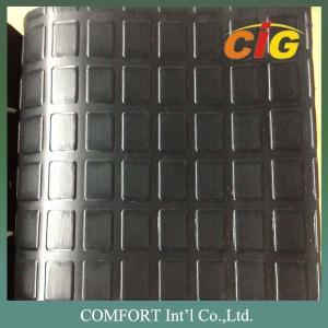 Buy cheap Abrasion - Resistant Black PVC Commercial Floor Coverings 350GSM CIGD3L0712 product