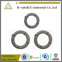Buy cheap made in china 6x19+iwrc/FC 5mm galvanized steel wire rope with cheap price from wholesalers
