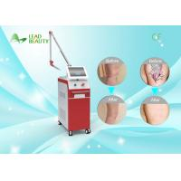 Buy cheap Vertical 1064nm 532nm q switched laser for tattoo removal , 1-10Hz from wholesalers
