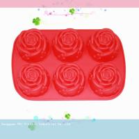 Buy cheap environment protective Silicone Cake Moulds With LFGB certification from wholesalers