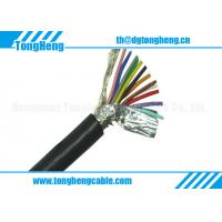 Buy cheap 12C Motor Engine Oil Resistant Spiral Shielded Halogen Free Cable from wholesalers