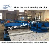 Buy cheap Corrugated Metal Deck Roll Forming Machine Chains Transmission from wholesalers