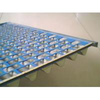 Buy cheap Stainless Steel/Plastic Flat Mesh Shale Shaker Screen/Resistant to abrasion, erosion and temperature. from wholesalers