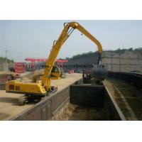 Buy cheap Mechanical Clamshell Grab Bucket Excavator Spare Parst For Material Handler Machine from wholesalers