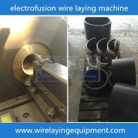 Buy cheap CNC electro fusion wire laying machine Coupler HDPE pipe fittings electro fusion fittings machine from wholesalers