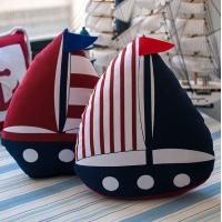 Buy cheap MEDITERRANEAN-STYLE SERIES OF CLOTH BOAT-SHAPED PILLOW CUSHION from wholesalers