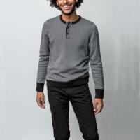 China Cool Free People Too Good Sweater , 100 Cotton Half Zip Up Sweater For Male on sale
