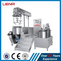 Buy cheap 2018 Cosmetic Electric Heating/Steam Heating Hydraulic Lifting vacuum emulsifying mixer machine for ointment shampoo from wholesalers