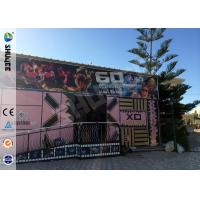 Buy cheap Electric Dynamic 5D Cinema System Simulation System  For Asumement Park product