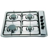 Buy cheap 60cm stainless steel built in gas hob product