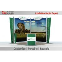 Buy cheap Frame Strong 10X10 Booth Display Lightweight Trade Show Booth Stand from wholesalers