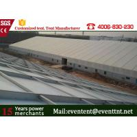 Buy cheap Folding Outdoor Warehouse Tent for  workshop With Polyester Coated Waterproof PVC Fabric from wholesalers