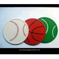 Buy cheap customized soft pvc cheap beer coaster with logo for advertising from wholesalers