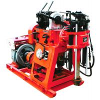 Buy cheap 100m Rotary Trailer Mounted Water Well Drilling Rigs With Mud Pump from wholesalers