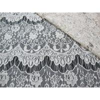 Buy cheap Thin hollow nylon eyelash French lace scalloped lace fabric for lady garment(CY-DN0002) from wholesalers