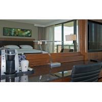 HIgh End 5 Star Hotel Furniture Bedroom Sets , Hospitality Case Goods Oak / Walnut Wood