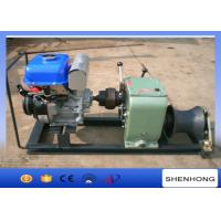 Buy cheap Axle Bar Driven Gas Powered Capstan Winch , 3 Ton Electric Cable Hoist Winch from wholesalers