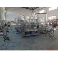 Buy cheap 3 In 1 Juice Bottling Equipment Stainless Steel / Filling Capping Machine from wholesalers