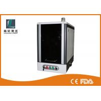 Buy cheap Vertical Full Closed Metal Laser Marking Machine 20 watt 70 * 70mm / 110 * 110mm from wholesalers