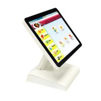 Buy cheap White Restaurant Cash Register Touch Screen , Super Thin All In One Touch Pos Terminal from wholesalers