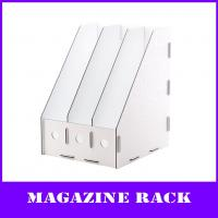Buy cheap 3-units a4 pp Magazine file holder from wholesalers