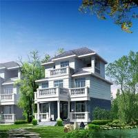 Buy cheap Movable Luxury Steel Frame Homes Cement Floor PVC Or Wood Side Panels from wholesalers
