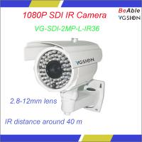 Buy cheap 2.1M pixel CMOS ICR WDR 1080P HD 2MP IR Bullet SDI camera from wholesalers
