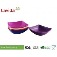 Buy cheap Durable Square Melamine Plates Bowls BPA Free Custom Made With Printing Logo from wholesalers