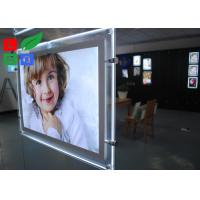 Buy cheap Cool White 8000K LED Crystal Light Box A3 A4 Poster Size For Real Estate Store Display from wholesalers