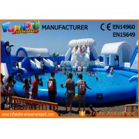 China Funworld Inflatable Waterpark Equipment Price Water Park Equipment For Children on sale