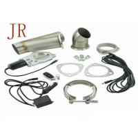 Buy cheap 3 Inch Sliver Valve Controlled Exhaust Systems Exhaust Cutout Kit Easy Operation product