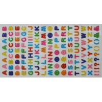 Buy cheap 3D Dimensional Puffy Alphabet Stickers For Scrapbooking Kit from wholesalers