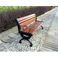 Buy cheap Brown  High Density Wood Plastic Composite Bench 150 * 54 * 73cm Weather Resistant from wholesalers