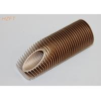 Buy cheap High Heat Exchanging Finned Copper Tubing for Water Boiler / Gas Wall Hanging Heater from wholesalers