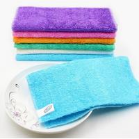 Buy cheap 2017 wholesale high quality bamboo fiber cleaning dish cloth for home from wholesalers
