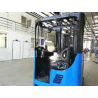 Buy cheap 2T Electric Reach Truck , 2.5T Narrow Aisle Reach Truck With Leaning Back Function from wholesalers