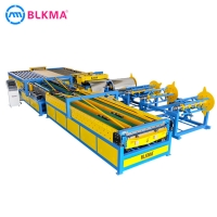 Buy cheap HVAC ventilation pipe making machinery air duct forming machine super u shape line 5 from wholesalers