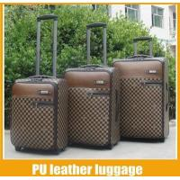 Buy cheap leather luggage set 3 from wholesalers