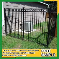 Buy cheap Fence factory Lot pictures iron fences Tampa wrought iron fencing from wholesalers