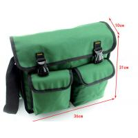 Buy cheap Heavy duty Polyester Electrician Tool Bag multi-pockets with velcro closure from wholesalers