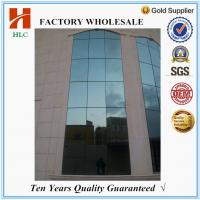 Buy cheap Color customized 2.0mm thickness aluminium frame glass wall from wholesalers