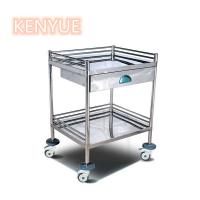 Buy cheap Emergency Medical Procedure Trolley Surgical Instrument Treatment Trolle from wholesalers
