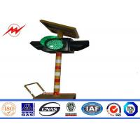 Buy cheap Solar Powered System Automatic Remote Control Bollard Traffic Signal Light from wholesalers