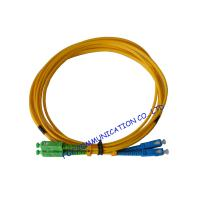 Buy cheap High Durability SC / APC Fiber Optic Patch Cord with LSZH jacket Ceramic Ferrule from wholesalers