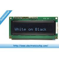 Buy cheap White on Black 3.3V Character LCD Display ROHS , 16x2 LCD Display from wholesalers