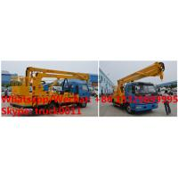 Buy cheap factory sale 2019s 14m-16m fold arm type High altitude working platform Aerial truck crane truck with working bucket product