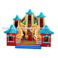 Buy cheap Inflatable Dragon Slide, Inflatable Slide And Bouncer Combo For Sale from wholesalers