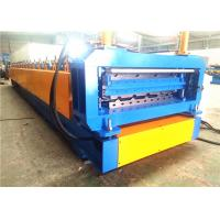 Buy cheap Metal Roofing Roll Forming Machine, Automatic Double Deck Roll Forming Machines from wholesalers