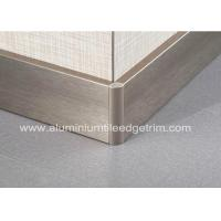 Buy cheap Titanium Gold Aluminium Skirting Boards Perth / Bunnings For Wall Edge Protection from wholesalers